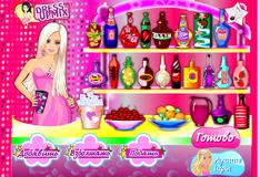 Игра Барби готовит Кену коктейль