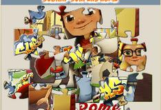 Игра Сабвей Серф: Картинка-пазл Рим