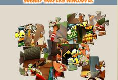 Игра Сабвей Серф: Картинка-пазл Ванкувер