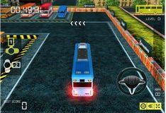 Игра Игра Парковка автобуса 3D