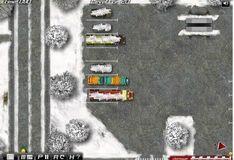 Игра Водитель автобуса зимой