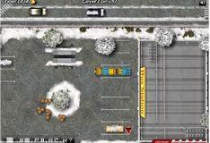 Игра Водитель автобуса зимой ІІ
