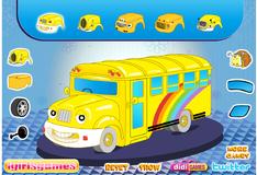 Украшение школьного автобуса