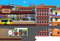 Игра Маленький водитель, трамвая
