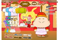 Игра Наряди шеф повара одного из китайских ресторанчиков