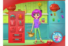 Игра Наряды для кухни Лили