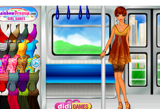 Игра Переодевалки в трамвае