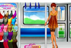 Переодевалки в трамвае