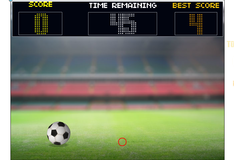 Игра Управление футбольным мячом
