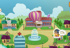 Игра Доставка товаров на воздушном шаре
