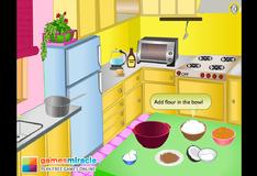 Игра Приготовление вкусного бисквита