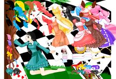 Игра Наряды для Алисы