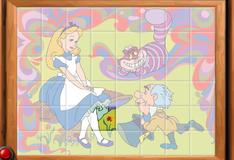 Игра Восстановление фотографии Алисы в Стране Чудес