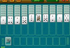 Игра Пасьянс-Паук