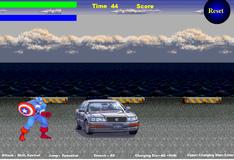 Игра Капитан Америка: Разрушение машин