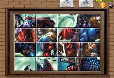 Игра Разорванное фото Капитана Америки