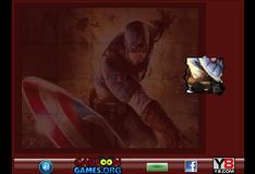 Игра Восстановление фото Капитана Америки