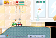 Игра Игра на двоих: Гонки на машинах с пейнтбольными снарядами