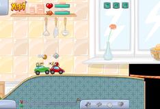 Игра на двоих: Гонки на машинах с пейнтбольными снарядами