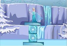 Игра Игра Холодное Сердце. Построй мостик для Эльзы