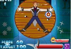Игра Игра Холодное Сердце. Летающий нож