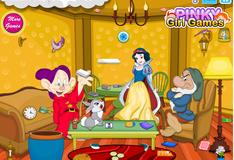 Игра Уборка в домике у семерых гномов
