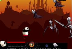 Битва панды с мертвецами