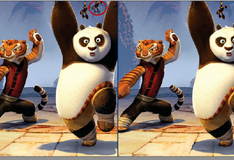 Игра Фото Панды По с его друзьями