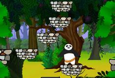 Прыжки панды с платформы на платформу