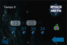 Игра Космическая математика
