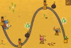 Игра Поезд на диком Западе