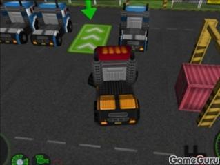 Игра Водитель грузовика