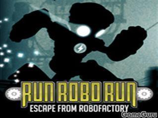 Игра Беги, робот, беги
