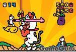 Играющаяся кошка