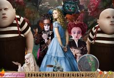"""Игра Цифры на фото """"Алиса в стране чудес"""""""