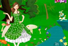 """Одевалка в кроличьей норе """"Алиса в стране чудес"""""""