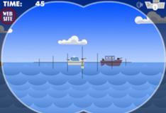 Игра Морской бой атака субмарины