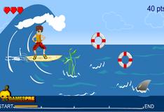 Игра Игра Серфинг с Акулами