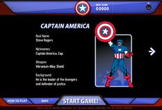Игра Капитан Америка против Красного Черепа
