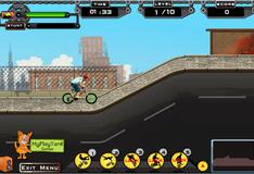 Игра Городской заезд на BMX