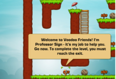 Игра Voodoo friends