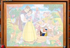 Игра Фото семи гномов, Белоснежки и принца
