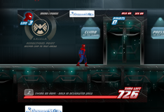 Игра Человек Паук спасает город
