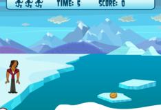 Игра Остров отчаянных героев: Алехандро во льдах