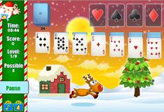 Игра Косынка с Санта Клаусом
