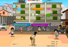 Игра Игра в крикет с соседями
