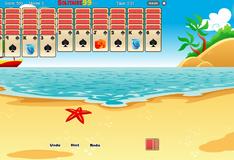 Игра Тропический Пасьянс Паук