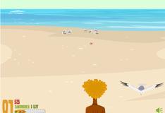 Игра Игра Остров отчаянных героев: Защити Сендвич