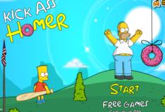 Игра Ударь Гомера