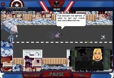 Игра Капитан Америка спасает город